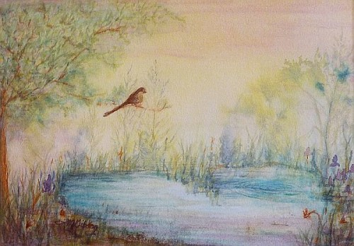 Spring Dreams Painting by Lisa Gibson