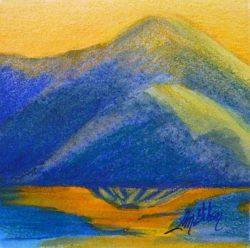 Mini Poppy Sunset by Lisa Gibson
