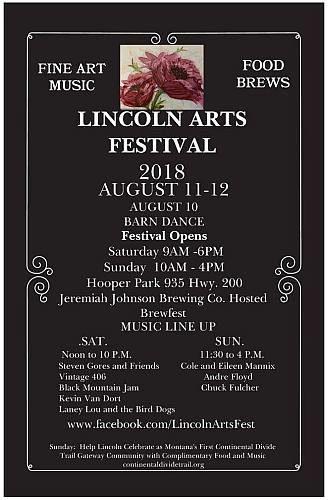 Lincoln Arts Festival Poster