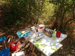 Lisa Gibson's Outdoor Painting Studio